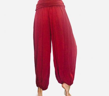 Solid Oversize Yoga Harem Trouser