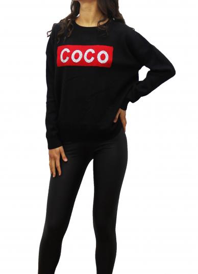 Black COCO T-Shirt