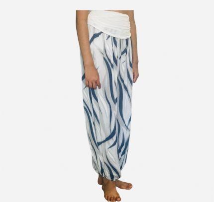 Abstract Print Yoga Harem Trouser
