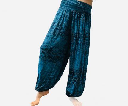 Kalamkari Yoga oversize Harem Trouser