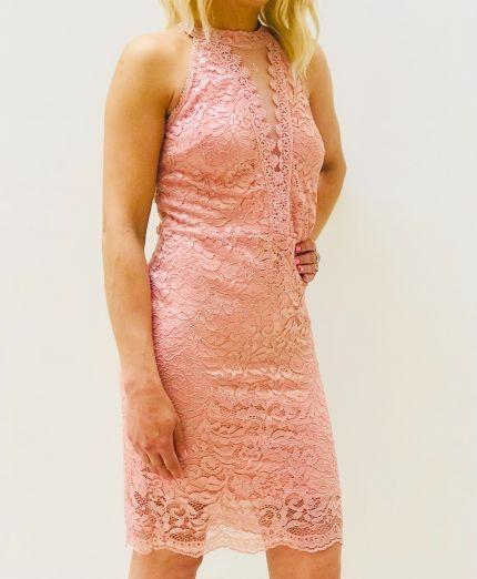 Halter neck Lace dress