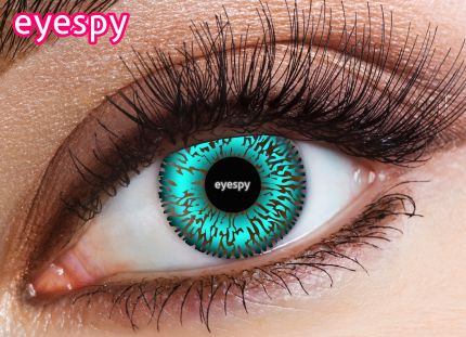 2 Tone Eyespy Lens-Aqua