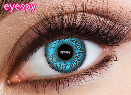 2 Tone Eyespy Lens-Blue