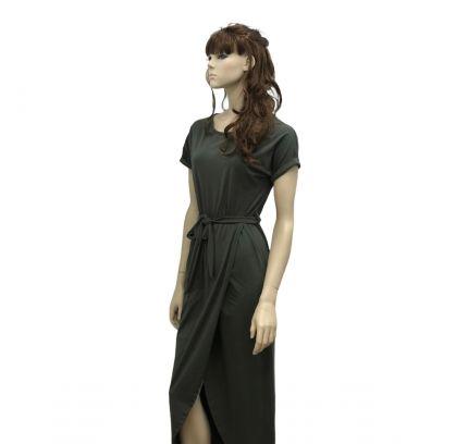 Over lap Maxi Dress