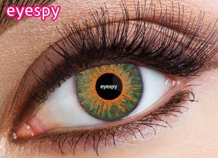 3 Tone Eyespy Lens - New-Emerald Green