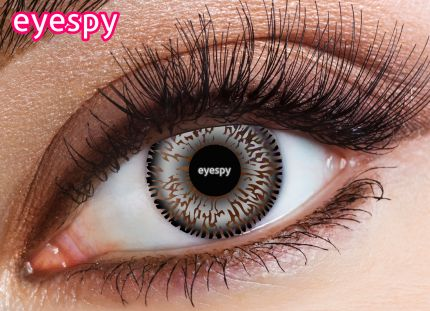 2 Tone Eyespy Lens-Grey