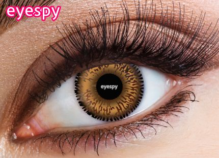 2 Tone Eyespy Lens-Honey