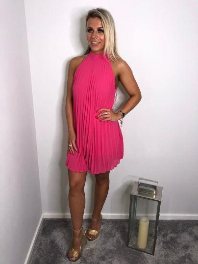 Above Knee Flare Dress