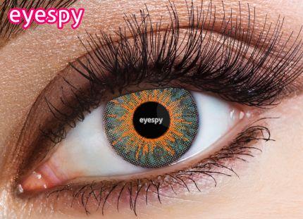3 Tone Eyespy Lens - New-Ocean Blue