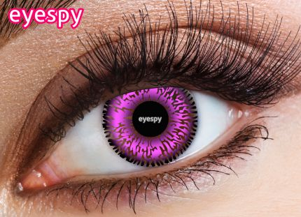 2 Tone Eyespy Lens-Violet
